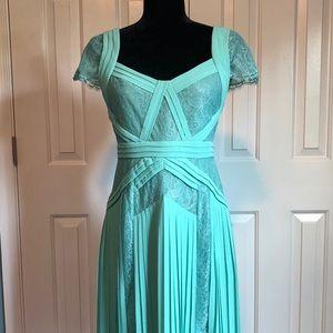 BCBG Sea Green Spring Dress